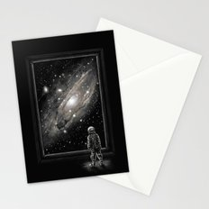Looking Through a Masterpiece Stationery Cards