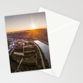 Sunse above the Mosel Stationery Cards