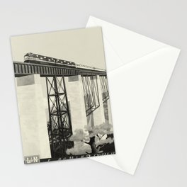 The Old Reliable oude poster Stationery Cards