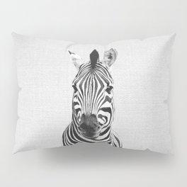 Zebra - Black & White Pillow Sham