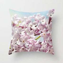 Lilac pink 300 Throw Pillow