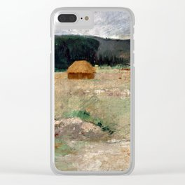 Theodore Wendel Giverny Farm Clear iPhone Case