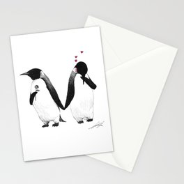 penguin lovers Stationery Cards