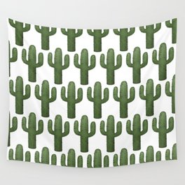 Cacti Pattern Wall Tapestry