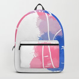Bisexual Pride Backpack