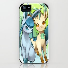 Leafeon & Glaceon iPhone Case
