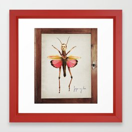 gregor-my love Framed Art Print