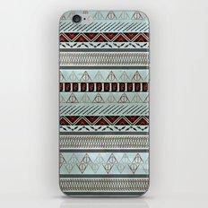 Harry Tribal Print Potter- Horcrux Blue iPhone Skin