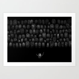 Fingerprint I Art Print