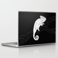 chameleon Laptop & iPad Skins featuring CHAMELEON by ARCHIGRAF