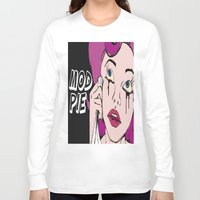 mod Long Sleeve T-shirts featuring MOD PIE by MOD_PIE