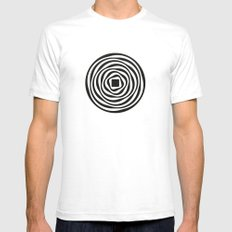 aubrey Mens Fitted Tee White SMALL