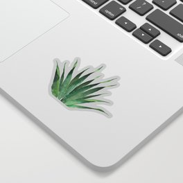 Tropical Palm Leaf #4 | Watercolor Painting Sticker