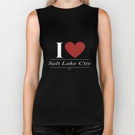 Salt Lake City Utah UT Utahn Biker Tank