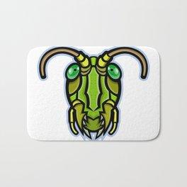 Grasshopper Head Mascot Bath Mat