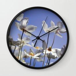 Anemonenhimmel Wall Clock