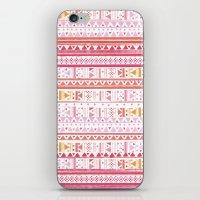 hippie iPhone & iPod Skins featuring HIPPIE BANDANA by Nika
