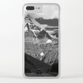 Canadian Rockies Clear iPhone Case