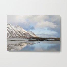 Lofoten Islands Metal Print