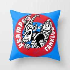 KRAMPUS FANKLUB Throw Pillow