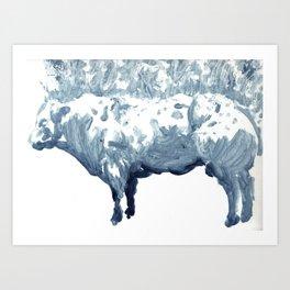Cow 01 Art Print