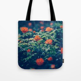 Twilight Roses - Moody Florals Tote Bag