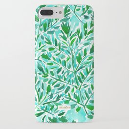 FRONDLY FRONDS Green Leaves iPhone Case