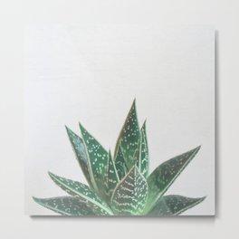 Aloe Tiki Metal Print