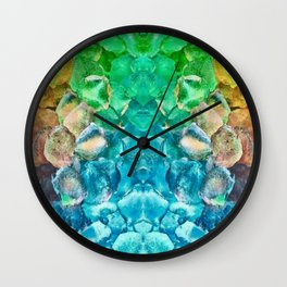 Awesome Lava Rock Explosion Wall Clock