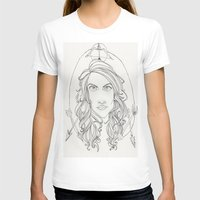allison argent T-shirts featuring Allison by Wolfhearted