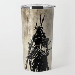 Mysterious Samurai Travel Mug