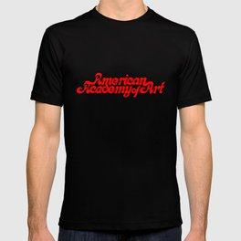 American Academy of Art 1980's Logo. T-shirt