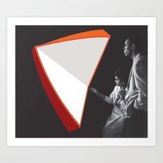 Light Folds Art Print