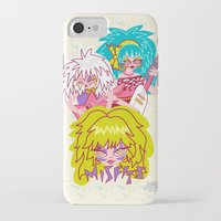 misfits iPhone & iPod Cases featuring Misfits Jem and the Holograms by Lady Love