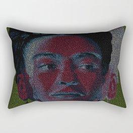 Frida: Screenplay Print Rectangular Pillow