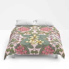 Winter Flowers II Comforters