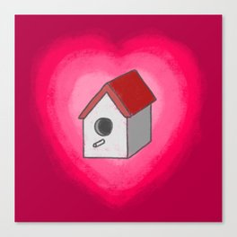 Make A Little Birdhouse In Your Soul (Without Lyric) Canvas Print