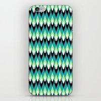 mid century iPhone & iPod Skins featuring Mid-century Mod by Holly Helgeson