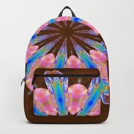 Healing Crystals Mandala Backpack