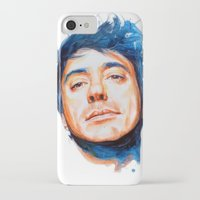 robert downey jr iPhone & iPod Cases featuring Robert Downey Jr. by KlarEm