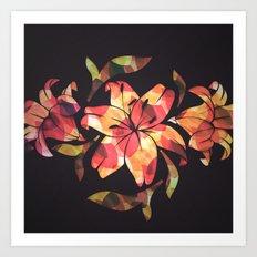Lilium Art Print