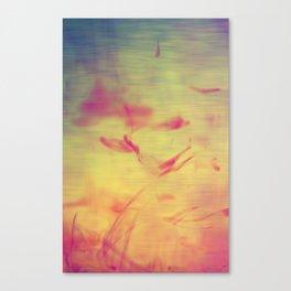 Liquids Go Abstract Canvas Print