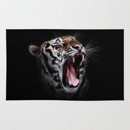 Ferocious Tiger Rug