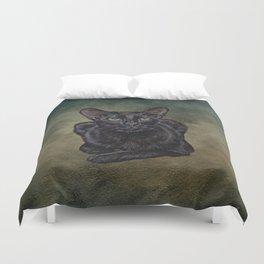 Cat Painting 16 Duvet Cover