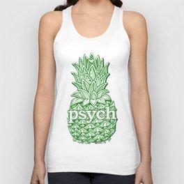 Psych Pineapple! Unisex Tank Top