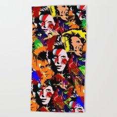 Bowie PopArt Metamorphosis Beach Towel
