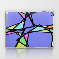 Stain Glass Window - Pastel, Abstract, Irregular Pattern Laptop & iPad Skin