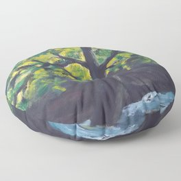 Planted by Living Waters AC181121a Floor Pillow