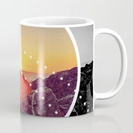 Peel Sunset - Circle graphic Coffee Mug