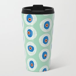 Evil Eye Charm - Hemlock  Travel Mug